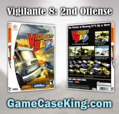 Vigilante 8: 2nd Offense Sega Dreamcast Game Case