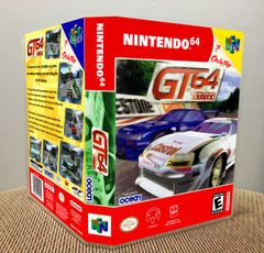 GT 64: Championship Edition N64 Game Case with Internal Artwork