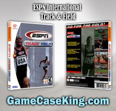 ESPN International Track & Field Sega Dreamcast Game Case