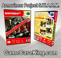 Armorines: Project S.W.A.R.M. N64 Game Case