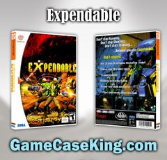 Expendable Sega Dreamcast Game Case