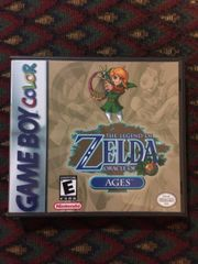 Legend of Zelda (The): Oracle of Ages GBC Game Case