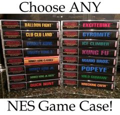 ***Choose Between ALL 679 NES Game Cases HERE***