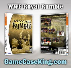 WWF Royal Rumble Sega Dreamcast Game Case