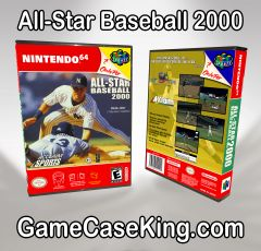 All-Star Baseball 2000 N64 Game Case