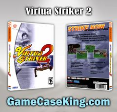 Virtua Striker 2 Sega Dreamcast Game Case