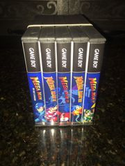 Mega Man 5 Case Gameboy Lot