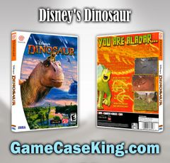 Disney's Dinosaur Sega Dreamcast Game Case