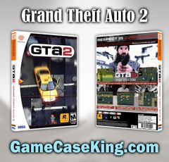 Grand Theft Auto 2 Sega Dreamcast Game Case