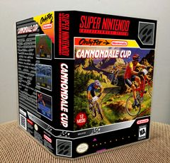 Cannondale Cup SNES Game Case with Internal Artwork
