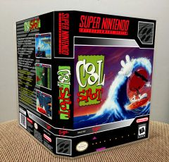 Cool Spot SNES Game Case with Internal Artwork