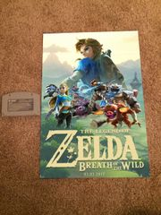 ***LoZ Breath of the Wild Nintendo Switch Poster #1 (18x12 in)*** HOT!