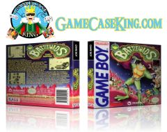 Battletoads Gameboy Game Case