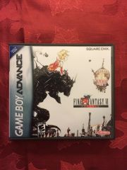Final Fantasy VI Advance GBA Game Case
