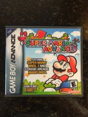 Super Mario Advance GBA Game Case