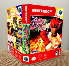 Fighters Destiny N64 Game Case with Internal Artwork