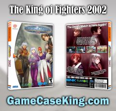 King of Fighters 2002, The Sega Dreamcast Game Case