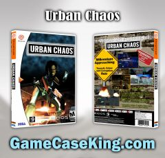 Urban Chaos Sega Dreamcast Game Case