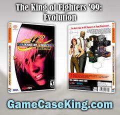King of Fighters '99: Evolution, The Sega Dreamcast Game Case
