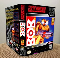 B.O.B. SNES Game Case with Internal Artwork