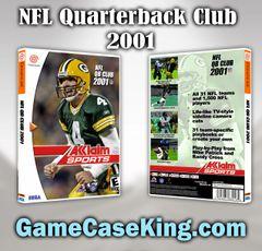 NFL Quarterback Club 2001 Sega Dreamcast Game Case