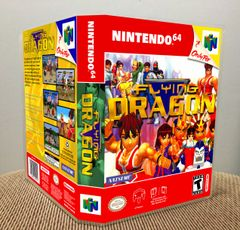 Flying Dragon N64 Game Case with Internal Artwork