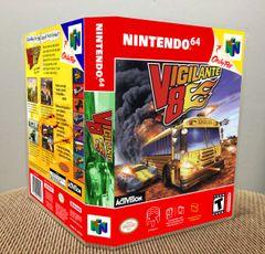 Vigilante 8 N64 Game Case with Internal Artwork