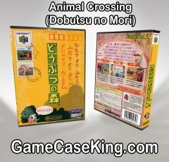 Animal Crossing (Dobutsu no Mori) N64 Game Case