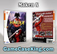 Maken X Sega Dreamcast Game Case