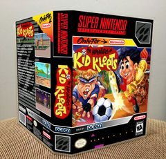 Adventures of Kid Kleets (The) SNES Game Case with Internal Artwork