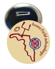 Pi Beta Phi FSU Homefield Advantage Gameday Button