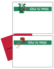 Alpha Chi Omega Logo Postcards