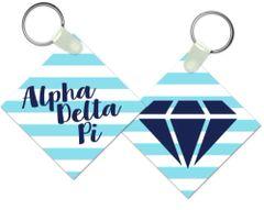 Alpha Delta Pi Key Chain