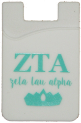 Zeta Tau Alpha Cell Phone Pocket