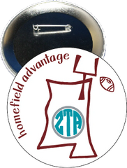 Zeta Tau Alpha Mississippi State Homefield Advantage Gameday Button