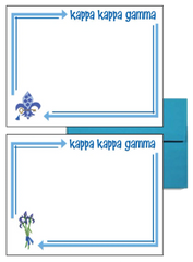 Kappa Kappa Gamma Arrow Postcards