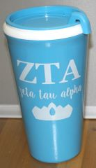 Zeta Tau Alpha Coffee Tumbler