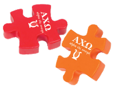 Alpha Chi Omega Stress Reliever - Puzzle