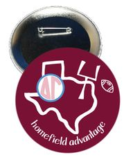 Delta Gamma Texas A&M Homefield Advantage Gameday Button