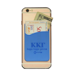 Kappa Kappa Gamma Cell Phone Pocket - Light Blue