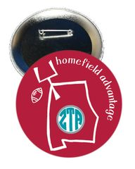 Zeta Tau Alpha Alabama Homefield Advantage Gameday Button