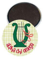 Alpha Chi Omega Logo Magnet