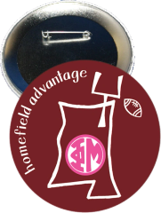 Phi Mu Mississippi State Homefield Advantage Gameday Button