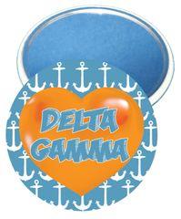 Delta Gamma Heart Mirror