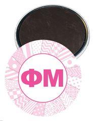 Phi Mu Letters Magnet