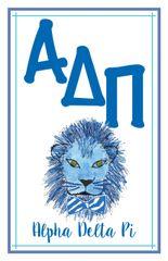 Alpha Delta Pi Logo Poster