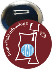 Alpha Delta Pi Mississippi State Homefield Advantage Gameday Button