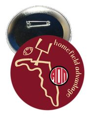 Alpha Omicron Pi FSU Homefield Advantage Gameday Button