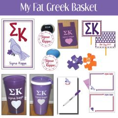 My Fat Greek Basket • Sigma Kappa