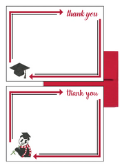 Alpha Omicron Pi Graduation Postcards